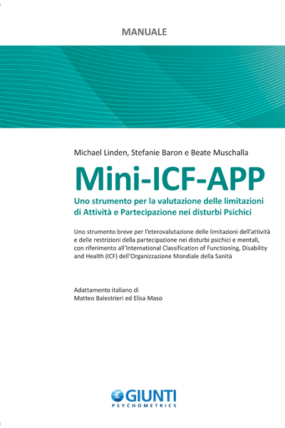 Mini Icf App Giunti Psychometrics