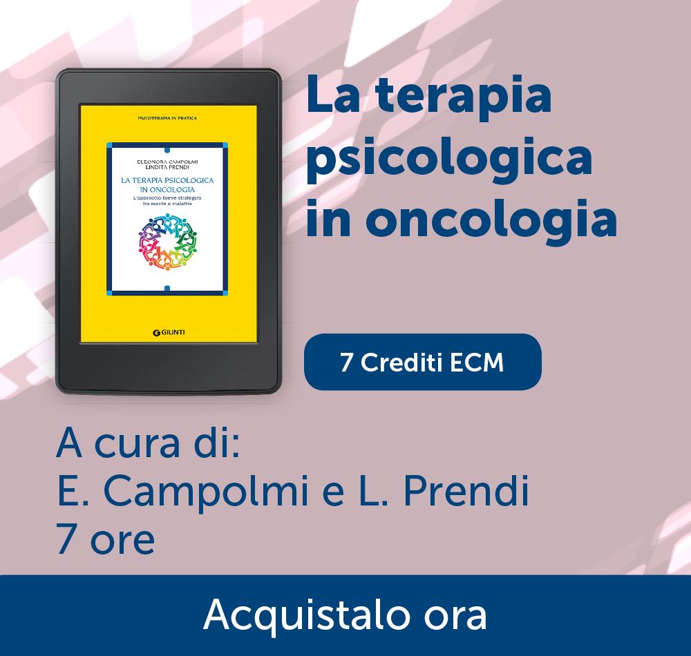 Terapia psicologica in oncologia