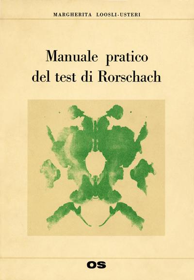VO11 - Manuale pratico del test di Rorschach