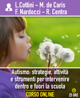 Autismo: strategie, attività e strumenti